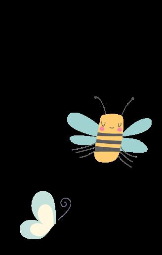 Pčelica i leptirić