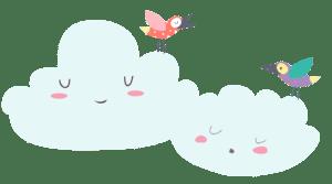 Ptičice i oblaci